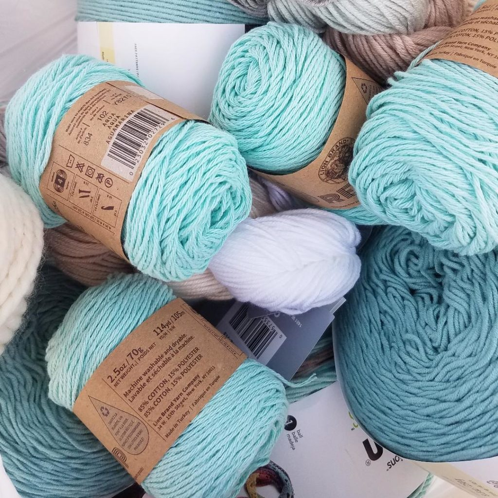 Cotton yarn at Michael's