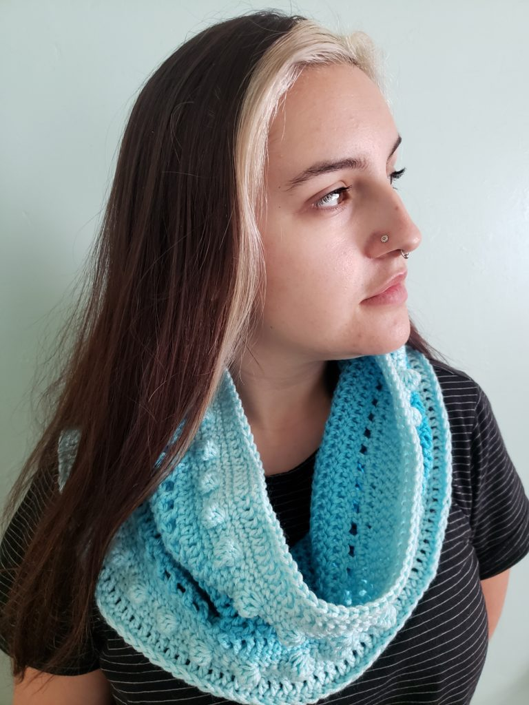 Free Crochet Pattern for Malibu Cowl - designed by KindOfKnit.com