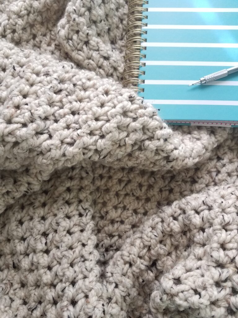Morro Bay Crocheted blanket