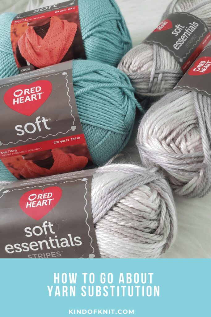How to go about yarn substitution