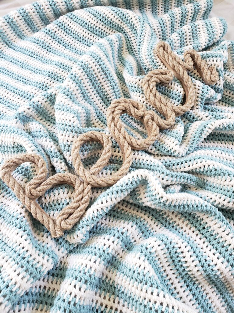 Encinitas Crochet Cotton Afghan Pattern from Kind Of Knit