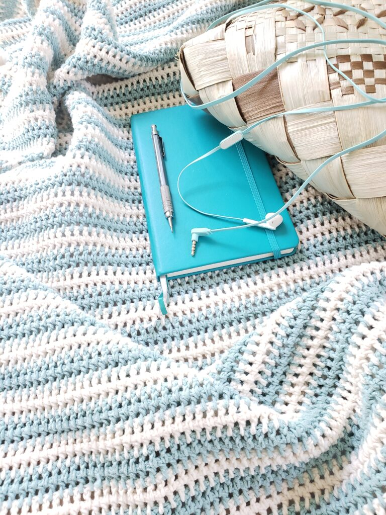 Encinitas Crochet Cotton Afghan Pattern by Kind Of Knit
