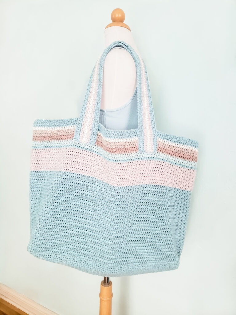Cambria Dream Beach Bag designed by KindOfKnit.com