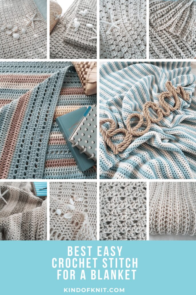 What is the Best Easy Crochet Stitch for a Blanket
