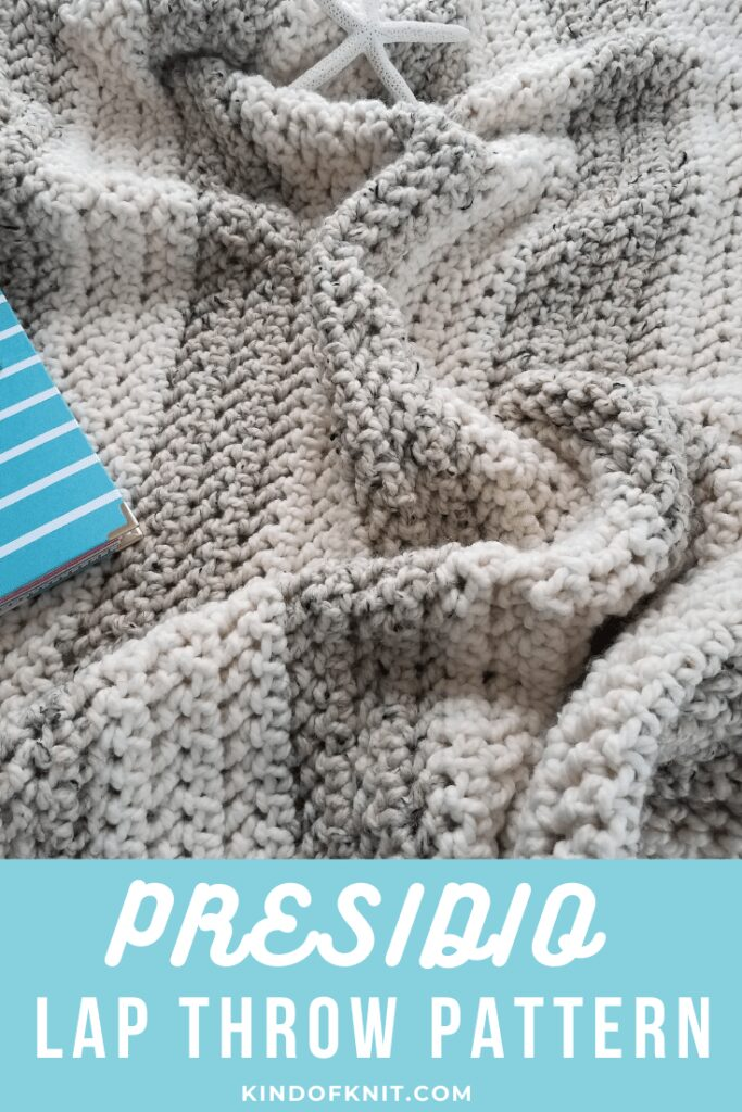 Presidio Chunky Lap Throw Crochet Pattern by Kind Of Knit
