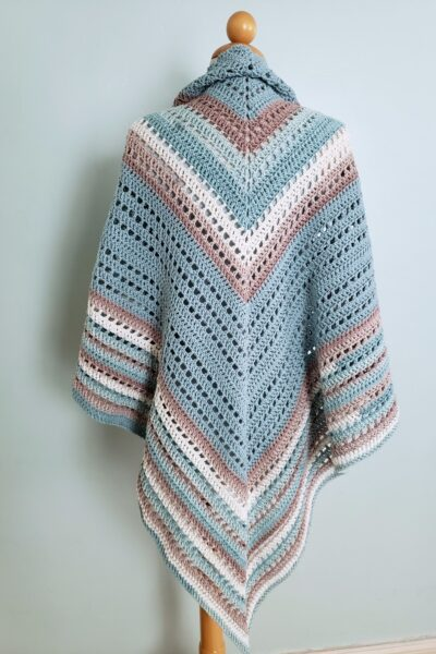 Seaside Shawl Crochet Pattern