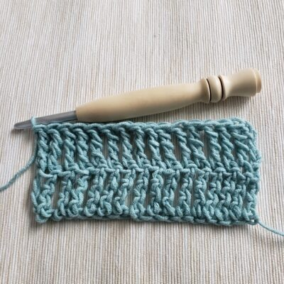 How to Make DTR Crochet Stitch and Where to Use It