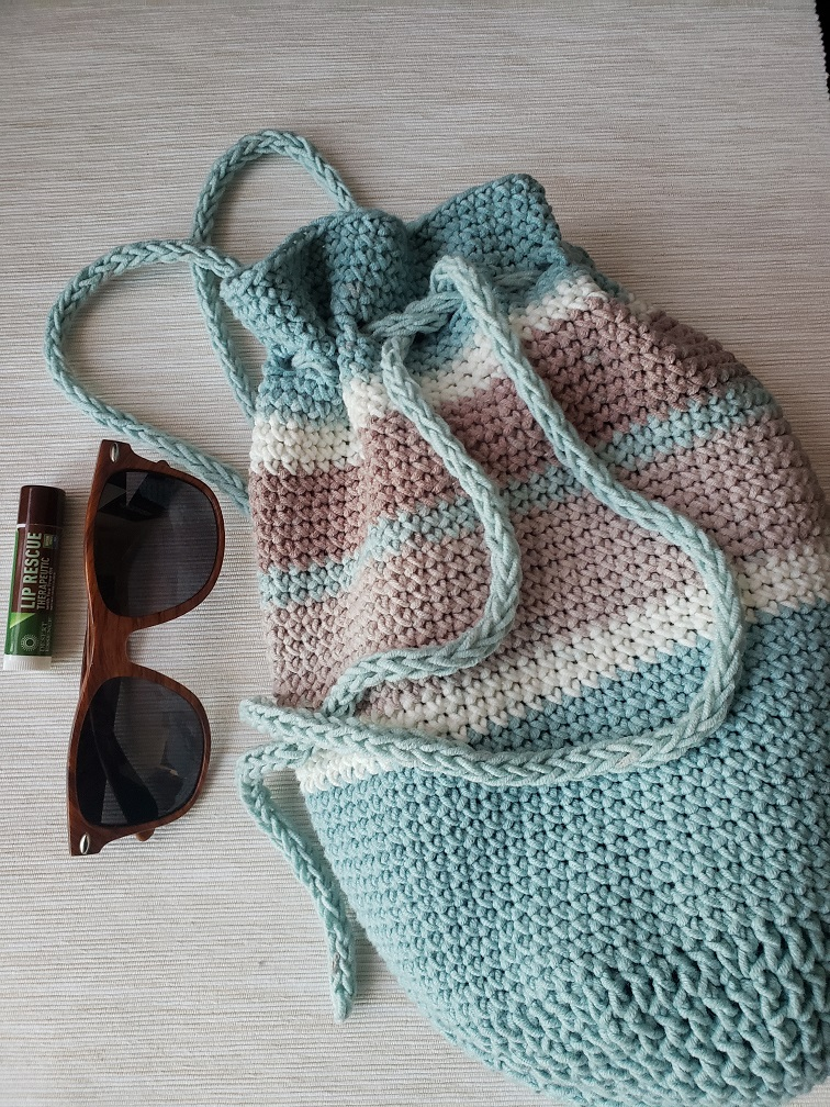 Sand Bucket Backpack - KindOfKnit