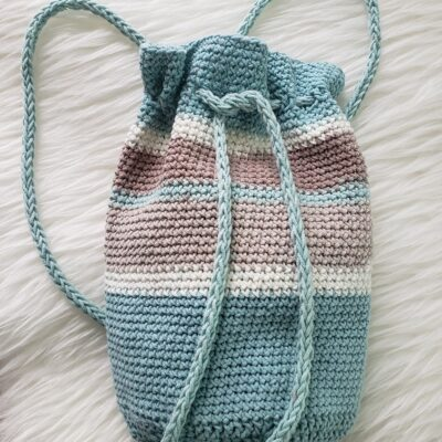 Sand Bucket Backpack Crochet Pattern: A Perfect Summer Accessory